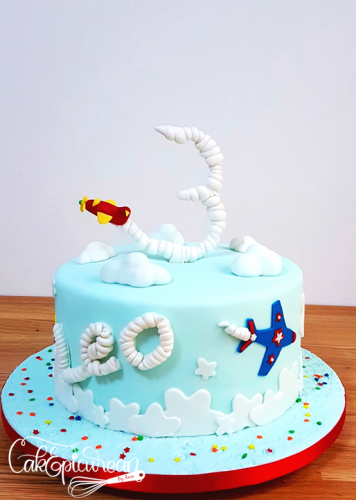 Airplanes Cake