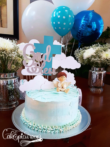 Angel Baptise Cake