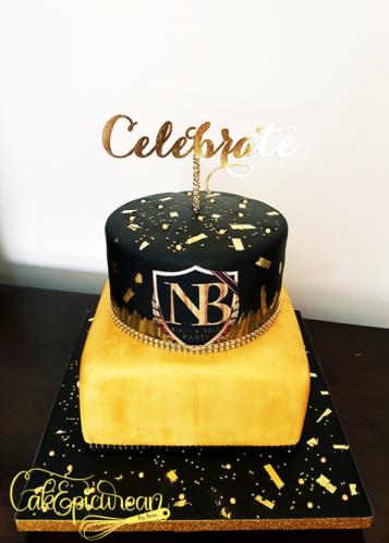 Black&Gold Cake