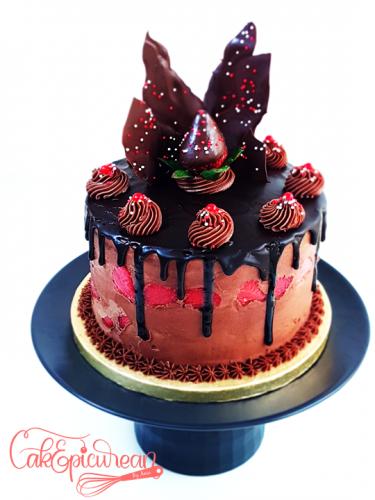 Chocolate Drip Cake 2