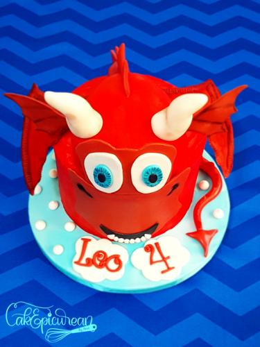Me & My Dragon Cake