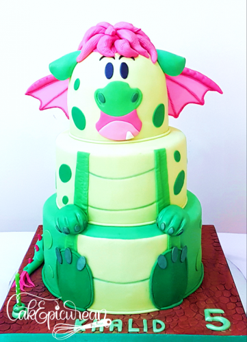 Pete The Dragon Cake