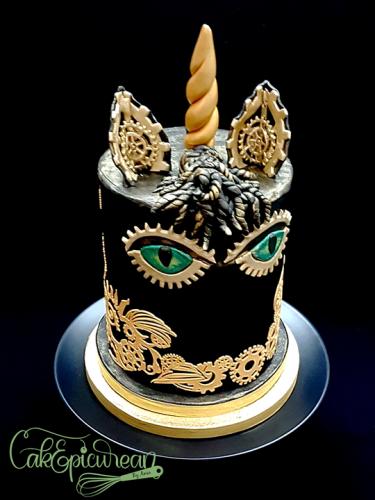 Sheherezade Unicorn Cake
