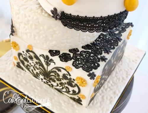 40th Birthday Cake Deails