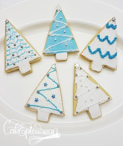Christmas Trees Coockies