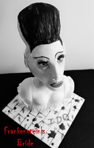 Frankenstein's Bride Cake 1