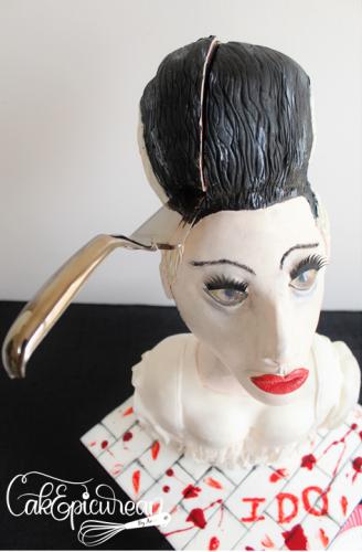 Frankenstein's Bride Cake 4