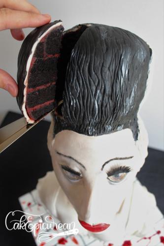 Frankenstein's Bride Cake 5