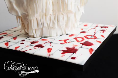 Frankenstein's Bride Cake 7