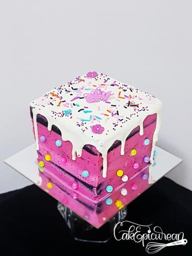Fun Cube Cake