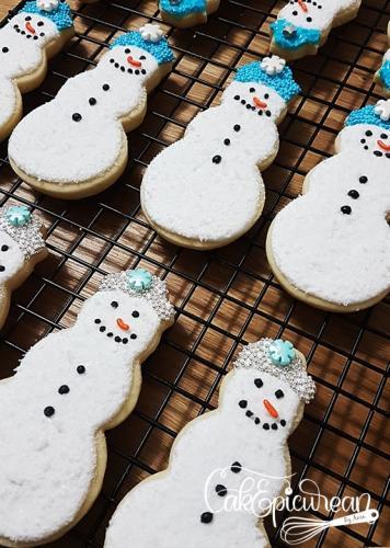 Snowman Coockies