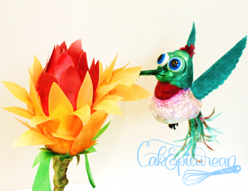 """Sweet Sip"" The Thirsty Hummingbird"