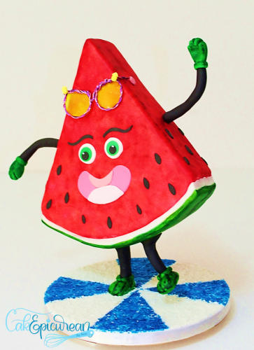 """Patty"" The Juicy Watermelon Gravity Defying Cake"