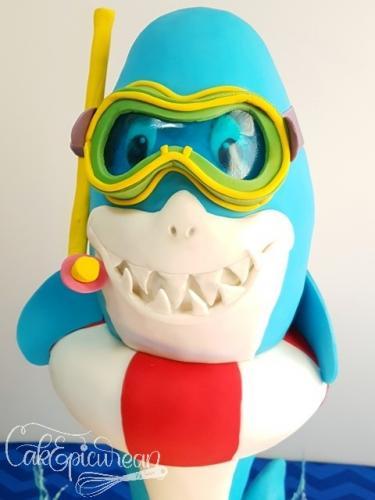 """Splashy"" The Shark"