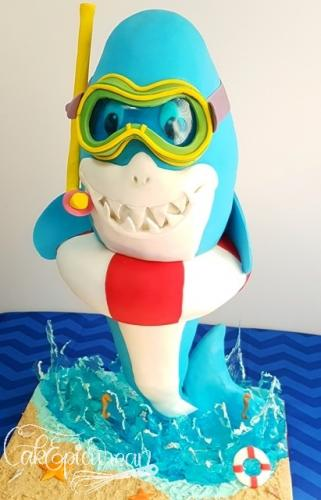 """Splashy"" The Shark"